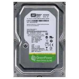 [10% de Ame] Hd 1 Tb Western Digital Sata Iii 7200 Rpm Wd10eurx 64MB - R$189