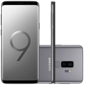 Smartphone Samsung Galaxy S9 Plus 128GB Cinza 4G Tela 6.2 Câmera 12MP Android 8.0