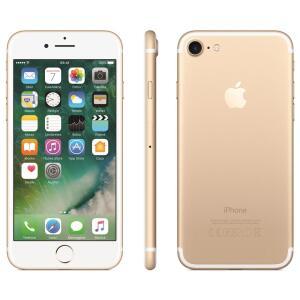 iPhone 7 3D Touch iOS 11 Touch ID Câm 12MP Resistente à Água Alto-falantes Estéreo 32GB Dourado R$1.800