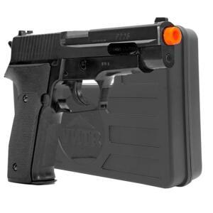 Pistola airsoft P226 cybergun + Maleta rígida | R$119