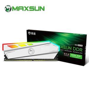Memória RAM Maxsun 8Gb DDR4 3000Mhz RGB   R$172