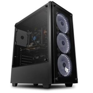 COMPUTADOR PICHAU GAMER, I3-9100F, RADEON RX 590 8GB POWERCOLOR, 8GB DDR4, HD 1TB, 600W, KAZAN