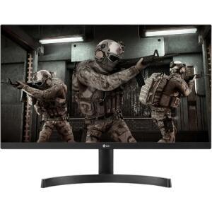 "Monitor LED 23,8"" Gamer LG 24ML600M IPS 1ms Full HD FreeSync R$600"
