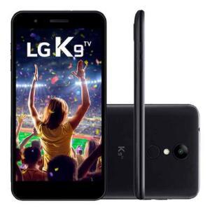 Smartphone LG K9, 16GB, 8MP, Tela 5´, TV Digital, Preto - X210 TV