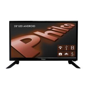 "Smart TV Android LED 28"" Philco PH28N91DSGWA HD R$ 541"