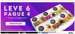 Leve 6 caixas pague 4 caixas. Exceto Starbucks. R$ 89