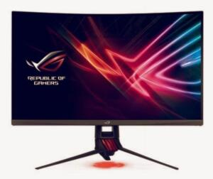 Monitor Gamer Asus ROG Strix LED 32´ Widescreen, WQHD, HDMI/Display Port, FreeSync, 144Hz
