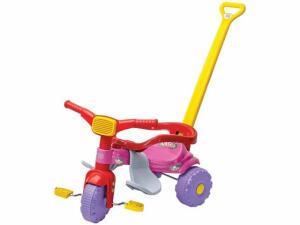 Triciclo Infantil Magic Toys Mônica - Haste Removível R$ 117