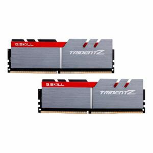 Memoria G.Skill Trident Z 16GB (2x8) DDR4 3000Mhz Cinza/Vermelho, F4-3000C15D-16GTZB