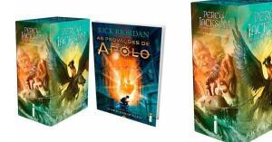 Kit livros - Percy Jackson + O Oráculo Oculto (BOLETO)