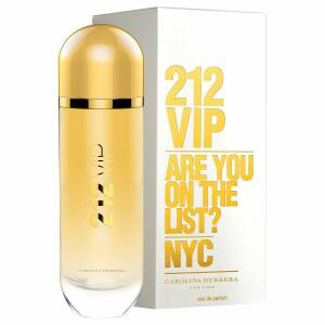 Perfume Feminino 212 VIP Carolina Herrera Eau de Parfum 125ml -