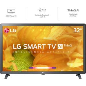 [AME R$ 764] Smart TV Led 32'' LG 32LM625 HD Thinq AI R$ 899
