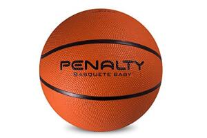 Bola Basquete Playoff Baby VIII Penalty 59 cm Laranja | R$45