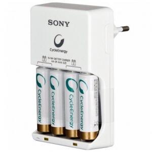 Carregador de Pilhas Sony BCG 34HHGN 2500MAH Branco