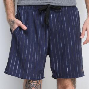 Shorts Gajang Listras Verticaisl Masculino - Marinho R$40