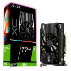 Placa de Vídeo EVGA NVIDIA GeForce GTX 1660 XC Gaming 6GB, GDDR5 - 06G-P4-1163-KR
