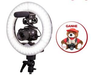 Combo Câmera SL2 Youtuber com Microfone e Ring Light - R$3000