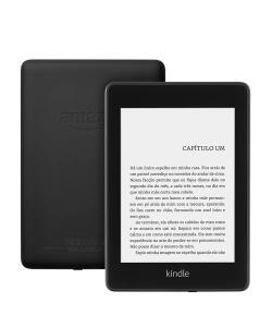 Kindle Paperwhite 8GB WI-FI Luz embutida e a prova d'água PRETO