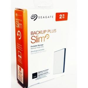 Hd Externo De 2tb Seagate Backup Plus Slim+ Sthn2000401 - R$331