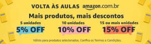 [Prime] Até 15% OFF em desconto progressivo em material escolar na Amazon