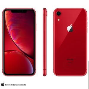 iPhone XR Vermelho 128 GB | R$3.399