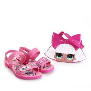 Sandália Infantil Grendene Kids LOL Diva Bag R$65