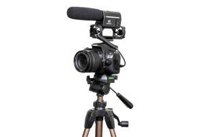 Combo Câmera SL2 Youtuber com Microfone e Tripé