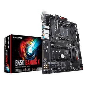Placa Mãe Gigabyte B450 Gaming X DDR4 ATX Socket AM4