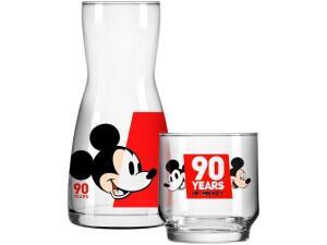 Moringa de Vidro 500ml com Copo Nadir - Disney Mickey 90 Anos R$ 22