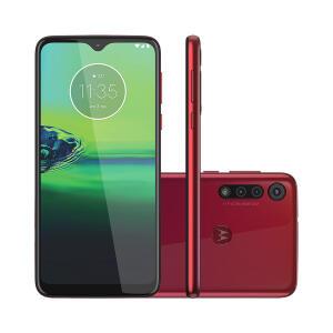 Smartphone Motorola G8 Play 32GB Vermelho R$ 749