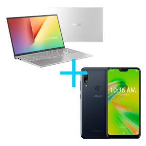 Notebook Asus VivoBook X512FJ-EJ228T + Smartphone Asus Zenfone Max Shot 3GB RAM 32GB Preto - R$3869