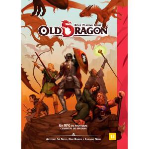 Old Dragon Livro Básico - RPG | R$70