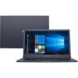 "[R$605 AME+CC Shoptime] Notebook Positivo Motion Q432B Atom 4GB 32GB SSD + 64GB Nuvem 14"" W10 | R$"