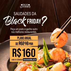 Duo Gourmet | Assinatura Anual por R$160