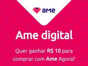 R$ 10para contas novas do AME