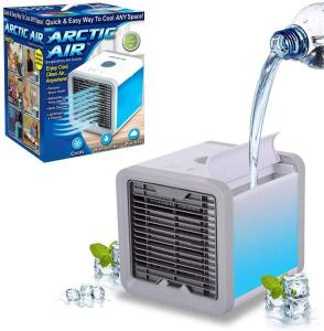 Mini Ar Condicionado Portátil Arctic Air Cooler Umidificador R$ 60