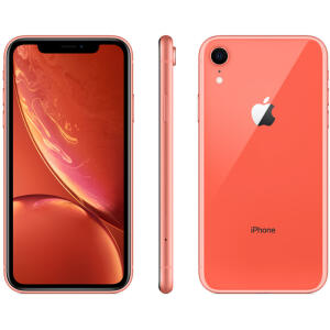 "iPhone XR 64GB Coral Tela 6.1"" iOS 12 4G 12MP - Apple - R$2799"