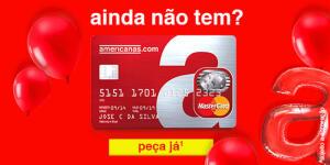 Faça cartão de crédito na Americanas e ganhe R$ 100 de cashback