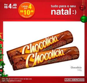 [Loja Física] Biscoito Chocolícia - 4 unidades por R$ 10,00
