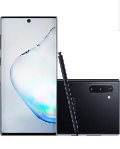 [CC SUB+AME R$3,026.88] Samsung Galaxy Note 10 256GB Preto/Prata - R$3783