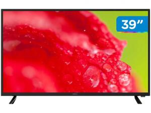 "Smart TV DLED 39"" Cobia CTV39FHDSM - Wi-Fi 2 HDMI 1 USB - R$999"