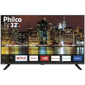 "[R$639 AME] Smart TV LED 32"" Philco PTV32G60SNBL HD | R$799"