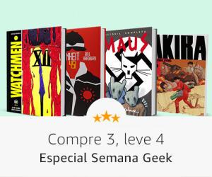 Semana Geek Amazon | Compre 4 e pague 3
