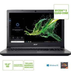 Notebook Acer Aspire 3 A315-41-R4RB AMD Ryzen™ 5 2500U R$ 1799