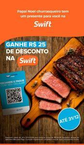 Swift - até R$25 OFF pagando com Mercado Pago