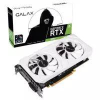 Placa de Vídeo Galax NVIDIA RTX 2060 EX White (1-Click OC) 6GB GDDR6 - 26NRL7HPY3EW