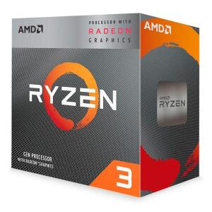 Processador AMD Ryzen 3 3200g 3.6 GHz(4GHz Turbo) 4 núcleos / 4 threads