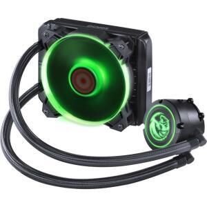 WaterCooler PCYes Nix RGB 120mm, 1 Fan, Preto - PWC120H40PTRGB R$214