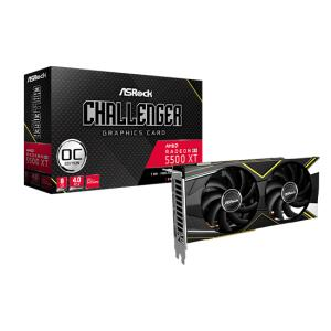 Placa de Vídeo Asrock Radeon Navi RX 5500 XT | R$1100
