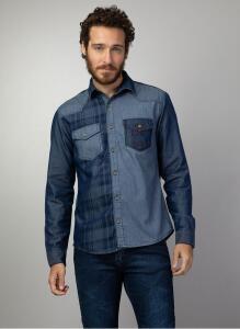 Camisa Jeans Masc